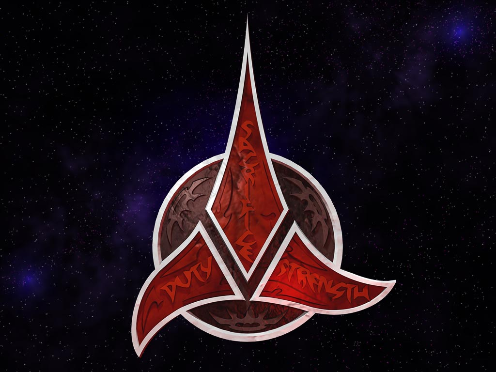 star trek fan tumblr � klingon trefoil wallpaper 1024 x 768